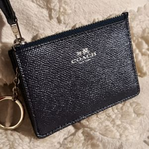 Coach Slim Card and Key Wallet